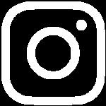 îcone Instagram blanche avec contours